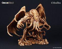 Great Cthulhu by Paul Komoda