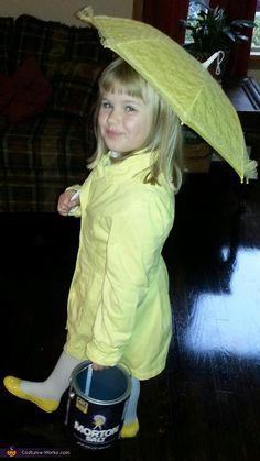 Vote for my niece, the Morton Salt girl - 2013 Halloween Costume Contest via @costumeworks