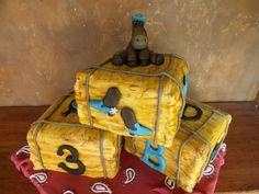 western baby shower cake. www.loveatfirstfrost.com