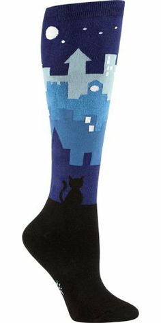 Sock It To Me Cityscape Knee High Socks Sock It To Me,http://www.amazon.com/dp/B00BSE4MKQ/ref=cm_sw_r_pi_dp_yUjQsb0X3XFT48FT
