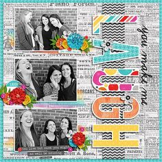 Layout created with Former Friday Freebie Templates from Miss Fish templates