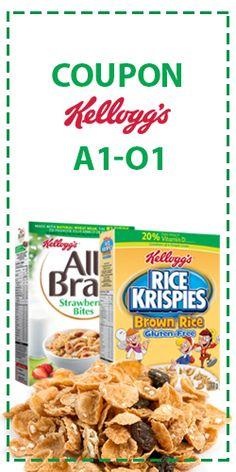 Super lot de coupons Kellogg's.  http://rienquedugratuit.ca/coupons/super-lot-de-coupons-kelloggs/