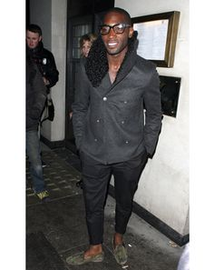 The Best and Worst Dressed Men of the Week: February 22, 2013: Week In Style: GQ.   Tinie Tempah is just pimp
