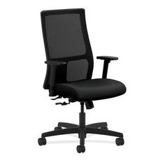 HON Ignition High-Back Mesh Desk Chair Upholstery: Ocean, Seat Mechanism: Synchro Tilt, Back Angle, Seat Glide