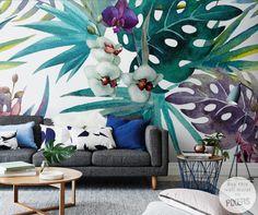 Wall Mural Orchid wall mural • Inspirations • PIXERSIZE.com