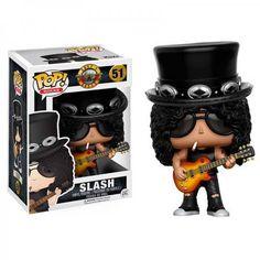 Funko Toys Guns n Roses Slash Pop Rocks Vinyl Figure: Rock on with this cool Guns n Roses vinyl figure! The officially licensed Slash Pop Rocks vinyl. Joey Ramone, Funk Pop, Axl Rose, Pop Rocks, Rick James, Metallica, Angus Young, Funko Pop Toys, Funko Pop Vinyl