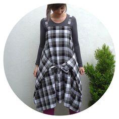 Ivy Arch: Cobbler Controversy: Straight Stitch Apron Dress B...