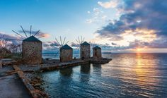 You already know of romantic Santorini and you know Mykonos is your party island. But if Greece truly has a magical island, Chios is definitely it. List Of Greek Islands, Greek Islands To Visit, Mykonos, Santorini, Chios Greece, Pretty Beach, Samos, Travel Images, Beautiful Islands