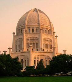 Visit the only Baha'i temple in North America