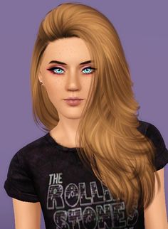 Nightcrawler Da Bomb hairstyle retextured by Forever And Always for Sims 3 - Sims Hairs - http://simshairs.com/nightcrawler-da-bomb-hairstyle-retextured-by-forever-and-always/