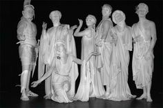 How To Make A Statue Costume Living statues