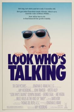 Look Who\'s Talking movie poster