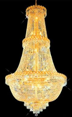 "Crystal Chandelier from ""Exquisite Chandeliers"""
