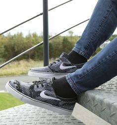 Mad about monochrome. 'Specially these Nike Janoski sneaks.