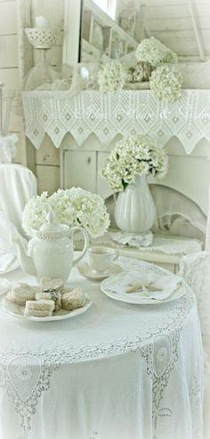 Winter Tea Time ~ Debbie Orcutt ❤