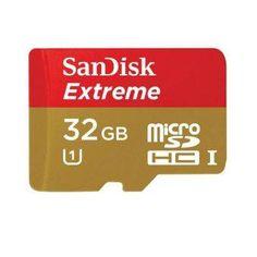 SanDisk Extreme Plus microSDHC Card UHS-I Class 10 (80MB/s) 32GB - Merah Kuning
