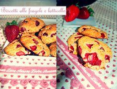 Low fat strawberry & buttermilk cookies