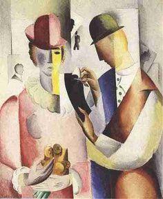 Jais Nielsen (1885-1961) was een Deense kunstenaar, ontwerper en keramist. Zijn kunst werd beïnvloed door het kubisme. Vanaf 1915 maakt Nielsen sculpturen in de kubistische stijl. Zijn beelden werden op grote schaal toegejuicht en, voor een tijd, overschaduwde hun roem die van zijn schilderijen.