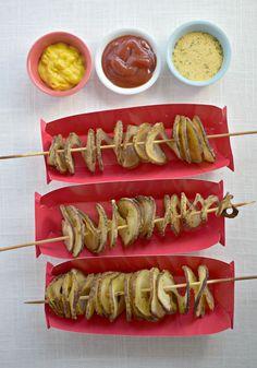 Baked Tornado Fries