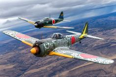 Ww2 Aircraft, Military Aircraft, Plane Photos, In The Air Tonight, Aviation Art, World War Ii, Wwii, Fighter Jets, Japanese