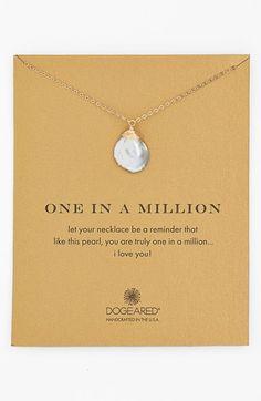 Women's Dogeared 'One in a Million' Keshi Pearl