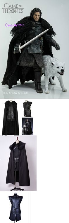 Unisex 86207: Game Of Thrones Night S Watch Jon Snow Cosplay Costume Suit Dress Outfit Uniform -> BUY IT NOW ONLY: $75.19 on eBay!