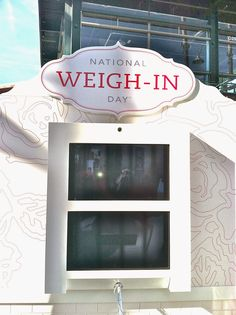 First Monday in January (not Jan. 1) – National Weigh-In Day