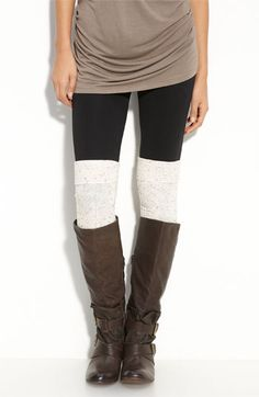 nordstrom textured over the knee socks.