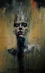 The Powerful Abstract Drawings & Paintings of Guy Denning Abstract Portrait, Abstract Drawings, Portrait Art, Art Drawings, Portrait Paintings, Painting Abstract, Abstract Landscape, Arte Fashion, Figure Painting