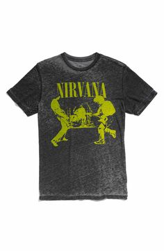 """all """"Sold out"""" was $28 to $42- Chaser 'Nirvana' Trim Fit Crewneck T-Shirt (Men) Nordstrom/polyvore"""