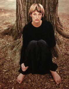 yuns:    Linda Evangelista by Juergen Teller, Interview 1993.
