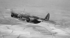 WW2  Ju-88 captured by the royal air force in flight (Date and location unknown)