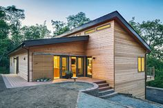 You'd Never Guess These Gorgeous, Net-Zero Houses Were Built In A Factory