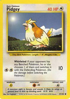 Image result for pokemon pidgey evolution cards
