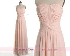 Pretty blush long gown!