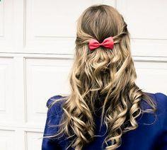 Cute Hair: Preppy College Glam