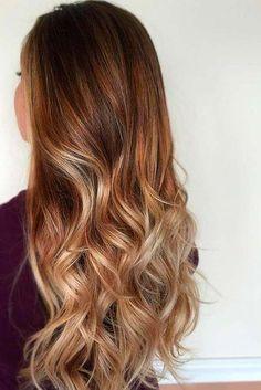Caramel Ombre Hair Color for Brunettes 3