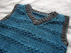 Lolo's Vest Knitting pattern - gorgeous for the Duo
