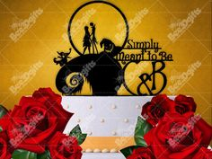 Unusual Fall Wedding Cakes Big Wedding Cake Serving Set Round Wedding Cake Recipe Wedding Cake Pictures Young Disney Wedding Cake Toppers BlueAverage Wedding Cake Cost Wedding Cake Topper   Jack And Sally Cake Topper The Nightmare ..