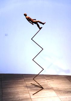 Nazar Bilyk Sculpture 3  (luv as some times I feel on the edge ready to disappear into thin air)
