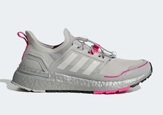 Grey Two Uppers And Shock Pink Accents Dress Up The adidas Ultra Boost Winter Ready