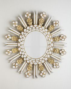 The Modern Princess ♕ :: Knight Round Mirror - Neiman Marcus