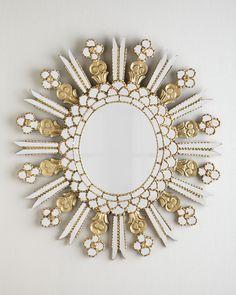 The Modern Princess ♕ :: Knight Round Mirror - Neiman Marcus