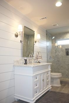 Bat Bathroom With Shiplap Master Small Tiles White Bathrooms