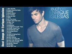 Best Songs Of Enrique Iglesias Enrique Iglesias's Greatest Hits Full Songs Greatest Songs, Greatest Hits, Piano Music, Dance Music, Enrique Iglesias Songs, South American Music, Euphoria 2, Best English Songs, English Love