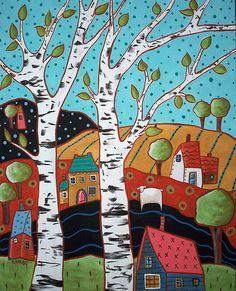 2 Birch Landscape