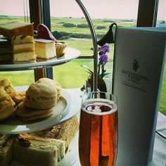 A decadent afternoon tea at the Old Course Hotel, St Andrews