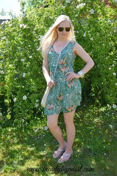 OOTD: summer dress from AMI Clubwear + LINK UP! via @beautybymissl