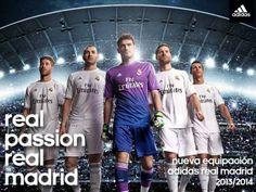 Novas camisetas Real Madrid #soccer #realmadrid #adidas #futbol