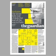 @chrisclarkecc beautiful design for tomorrow's front page. Big big story #design…